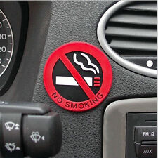 1Pc No Smoking Warning Logo Stickers Rubber Car Decal Sticker Car Accessory