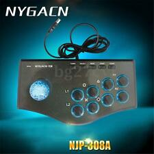 Arcade Fighting Stick Game Controller Joystick Gamepad For PS PS3 USB PC Android