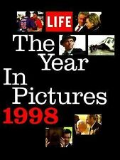 BOOK - HISTORY - LIFE: THE YEAR IN PICTURES 1998 - TIME LIFE BOOKS