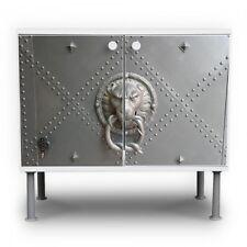 Waschbeckenunterschrank Front Beklebung Design Badschrank Eisentor Landhausstil