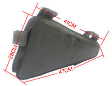 Customized Triangle Down Tube Frame Ebike Battery Bag Black For Electric Bicycle