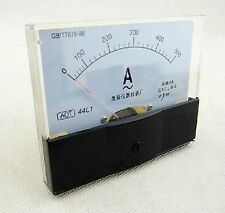 Rectangle Analog AMP Meter AC 500A Current Transformer