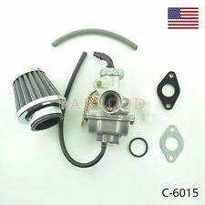 Carburetor Carb With Air Filter Fuel Filter For Honda XR80 XR80R 80R 1985-2003