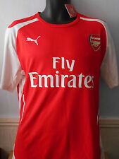 Arsenal Home Football Shirt Jersey ( 2014/2015 *WILSHERE 10) large men's #131