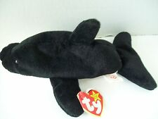 Ty Beanie Babies~4th Generation~Splash The Whale~Good Heart Tag~E6