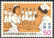 Japón 1977 Consejo Internacional de Enfermeras Especializadas/médico/salud/bienestar 1v (n25941)