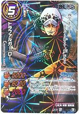 One Piece Miracle Battle Carddass Trafalgar Law OP Boost Rare 74/77