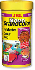 JBL NovoGranoColor (Novo Grano Color) Fish Food 250ml Enhancer Granules