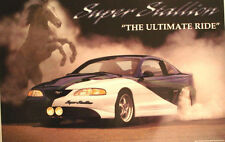 SVT MUSTANG SUPER STALLION - OFFICIAL FORD MOTOR COMPANY POSTER