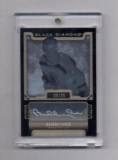 BOBBY ORR 2015-16 UPPER DECK BLACK DIAMOND AUTO #9/25 BRUINS