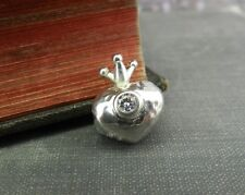 Halia Sterling Silver- Queen Of Hearts Charm Bead - HA0751