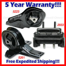 L715 Fit 99-05 Pontiac Grand Am Olds Alero 2.4 3.4L AUTO Motor & Trans Mount 3pc