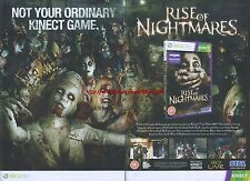 "Rise Of Nightmares ""Xbox 360"" 2011 Magazine 2 Page Advert #5005"