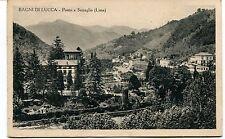 Anni '30 Bagni di Lucca Ponte a Serraglio Lima Guller FP B/N VG