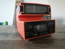 GRAETZ Form 99 Radio Alarm Vintage Retro Design space age flip clock
