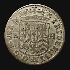 Kfsm. Brandenburg-Preußen, Friedrich III., 1/12 Taler 1689 BH Minden, R!