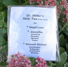 Dr Millers Holy Tea 16 BAGS=2 Month.$35.00 Best Ebay Price!