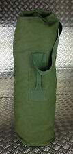 Genuine British Army Green Canvas Kitbag / Duffle Bag / Seasack - Good Condition