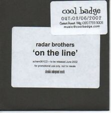 (AH40) Radar Brothers, On The Line - DJ CD