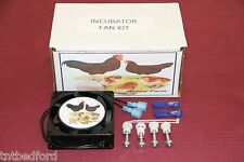 Forced Air Fan Kit For Hovabator/Little Giant Incubator