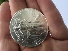 A+++++  2015 AMERICAN EAGLE PURE SILVER 99.99% PURE BEAUTIFUL  SILVER DOLLAR !