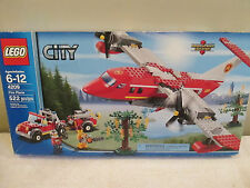 NEW Lego City 4209 Fire Plane 522 Pcs Building Block Toy Ages 6+
