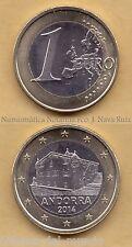B-D-M ANDORRA COIN 1 EURO NEW 2014 (2015) SC UNC