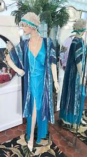 1920s DRESS 1930s FLAPPER GOWN Modern Millie GATSBY DOWNTON ABBY COAT NICE SMALL
