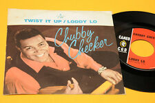 "CHUBBY CHECKER 7"" TWIST IT UP 1° ST ORIG ITALY 1963 EX+ !!!!!!!!!!!!!"