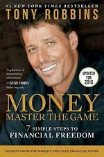 Money Master The Game 7 Simple Steps To Financial Freedom Book By Tony Robbins N