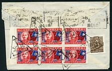 1946 Postage Due cover from South Africa to Shanghai