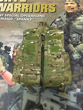 Crazy Dummy CRYE Warriors Special Ops Spanky Camo Range Vest loose 1/6th scale