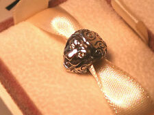 AUTHENTIC GENUINE PANDORA Silver YellowC Z Lion Charm 790443CZY Rare & Retired!