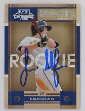 Logan Schafer Original Autographed Color Baseball Rookie Tradding Card