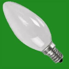 3x 60W PEARL CANDLE INCANDESCENT FILAMENT DIMMABLE LIGHT BULB SES E14 SCREW LAMP