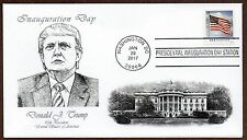 2017 INAUGURATION DAY USPS CANCEL ~ DONALD J. TRUMP ~ PANDA #5 CACHET ENVELOPE