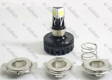 H4/ M3- 3 LED HID KIT Bright Light BIKE / CAR Headlight HIGH / LOW BEAM / FLASH