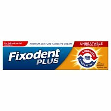FIXODENT PLUS DENTURE ADHESIVE CREAM DUAL POWER - 40G