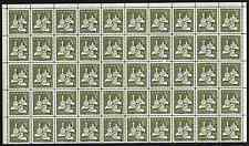 Canada Stamps -Pane of 50 -1965, Christmas - Gifts from the Wise Men #443 -MNH