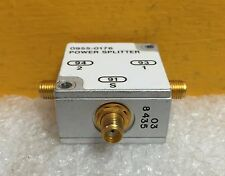 Mini-Circuits ZFSC-2-5 (HP 0955-0176) 10 to 1500 MHz, SMA Coaxial Power Splitter