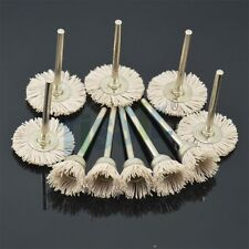 10PCS Nylon Brush Polishing Wheel High Quality With Emery Sand Fit Dremel