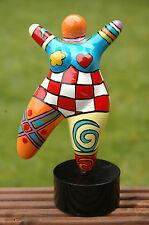"""Hommage an Niki de Saint Phalle - Skulptur Figur Dicke Frau """"Nana"""" Molly medium"""