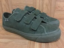 RARE�� VANS Prison Issue Deluxe Reptile Poison Ivy Green Triple Velcro 9 Sample