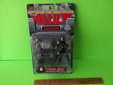 """Marvel Super-Villains Typhoid Mary 5""""in Figure w/Mechanical Straight Jacket 1998"""