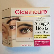 Cicatricure Eye Cream for wrinkles, bags and under eyes. 8.5g Crema Ojos Arrugas