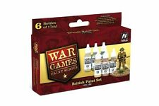 VALLEJO 70.153 War games Anglais kit – British paint set 6x17ml