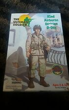 """ULTIMATE SOLDIER 1/6 SCALE 82ND AIRBORNE DIV D-DAY 12"""" FIGURE WWII 21ST #22020"""