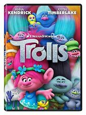 Trolls (DVD 2016) NEW* Adventure, Family, Animation* SEALED NOW SHIPPING !!!!