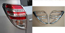 Chrome Rear Tail Light Lamp Cover Trim 2pcs for Toyota RAV4 2006 - 2012