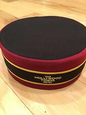 NEW Disney Parks Tower Of Terror Bellhop Hat Hollywood Tower Hotel HTH With Tag